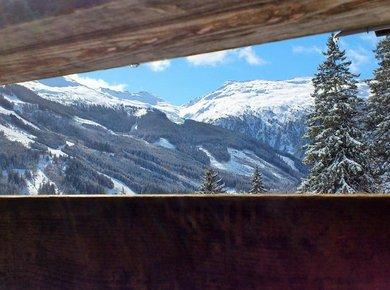 Kematenhütte Löprick Gastein Winter Umgebung 3