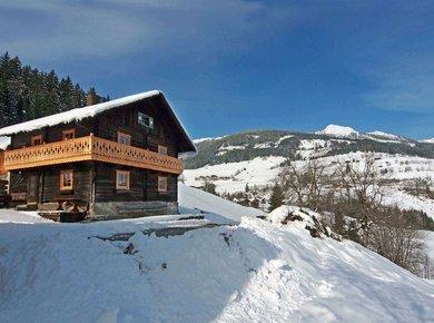 Gigerach Hütte Gastein Almliesl Winter