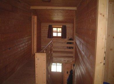 Kematenhütte Löprick Gastein Treppe oben