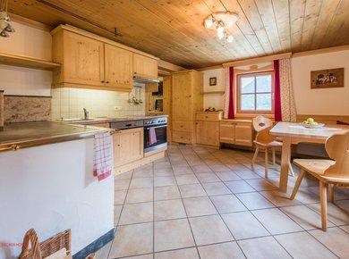 Gigerach Hütte Gastein Almliesl Küche