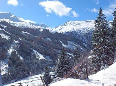 Kematenhütte Löprick Gastein Winter Umgebung 1