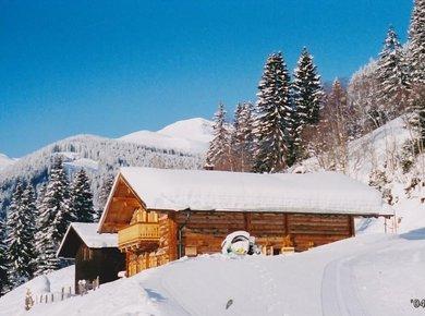 Kematenhütte Löprick Gastein Winter 4