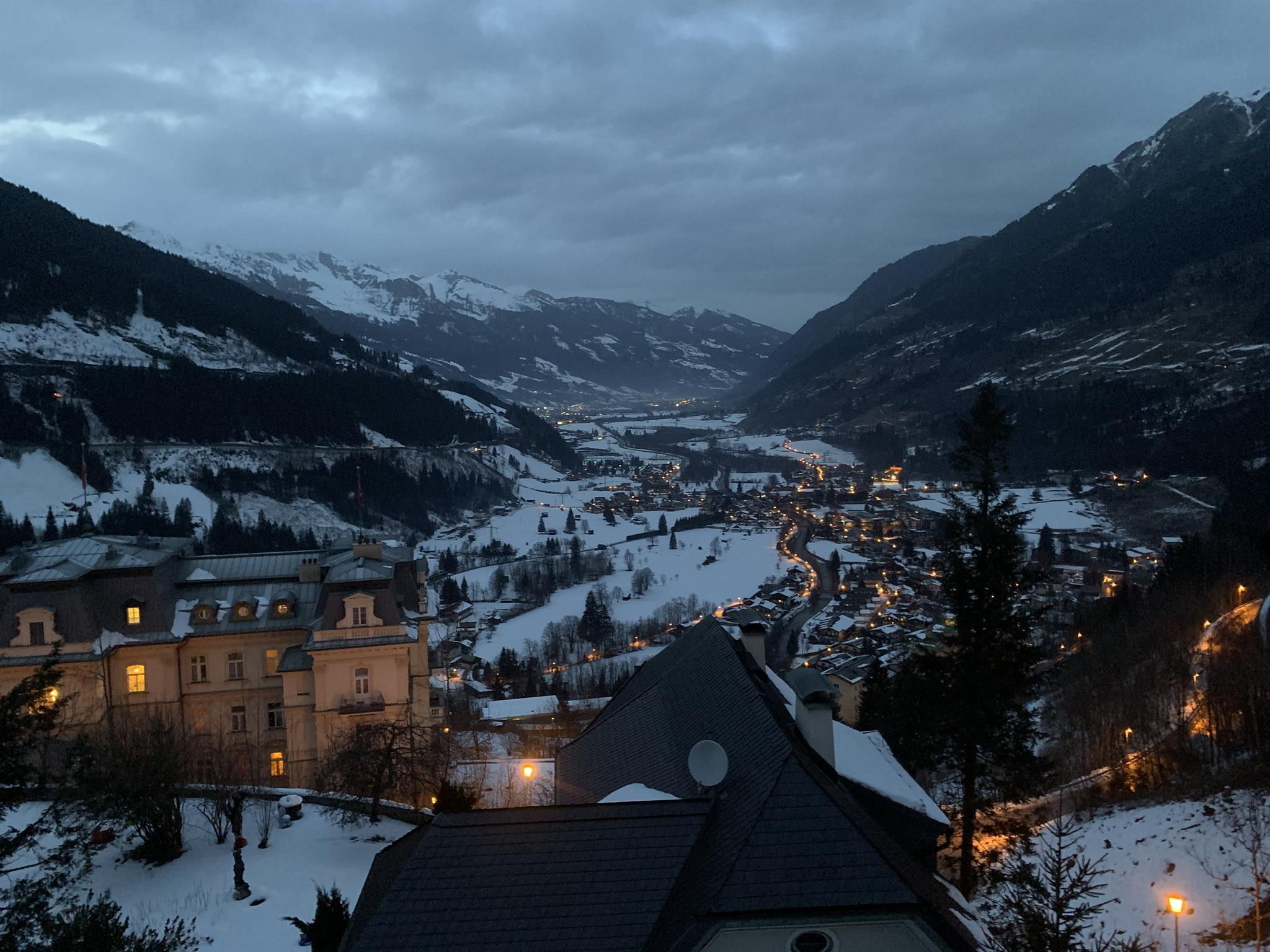 Reise von Bad Gastein nach Wien ab 19,00 | berblick